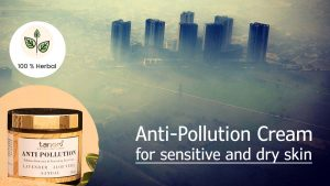 Anti-pollution cream for sensitive and dry skin